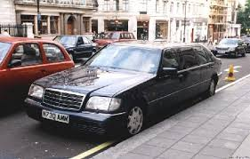 mercedes s500 1996 london1999 1996 jankel mercedes s500 limo front picture