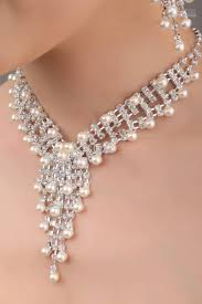 pearl necklace wedding jewellery images In stock bridal jewelry sets j89 1 pearl necklace amp earrings jpg