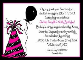 birthday invitation wording 50th birthday invitation wording cimvitation