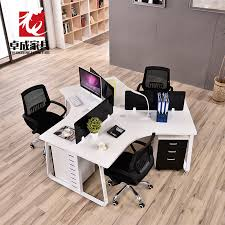 desk for 3 people three person six person staff desk 3 people 6 people combination