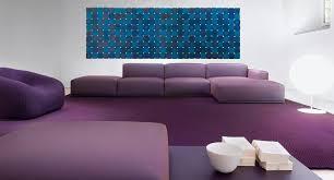 Purple Corner Sofas Corner Sofa Modular Contemporary Polyester Cover By Victor