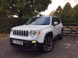 2015 Jeep Renegade Limited Estate White Black Cat D 1 6 Diesel