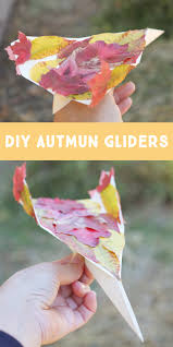small friendly autumn gliders a simple fall kid craft