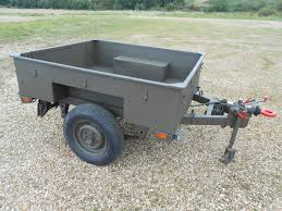 military trailer camper land rover military defender 90 110 wolf sankey wide track trailer