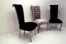 Contemporary Black Dining Chairs Astonishing Black Velvet Dining Room Chairs 46 For With Idea 17