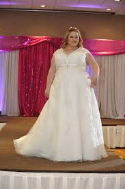 plus size bridal gowns torrance bridal show plus size wedding gowns on the runway