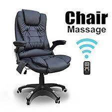 Massage Desk Chairs Tinkertonk Luxury Faux Leather Wireless 6 Point Massage Reclining