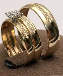 elegant cheap gold wedding rings sets for him and her today