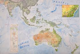 East And Southeast Asia Map by South Asia And Australasia Gallery