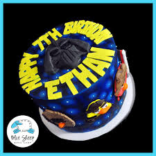 wars birthday cakes ethan s angry birds wars birthday cake blue sheep bake shop