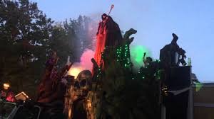 halloween kansas city 2015 worlds of fun overlord u0027s awakening haunt 2015 show youtube