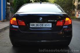 review bmw 530d 2014 bmw 530d m sport review rear indian autos