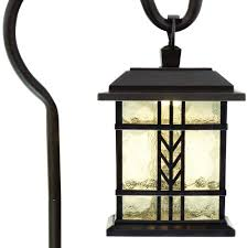 Hampton Bay Outdoor Light Fixtures by Hampton Bay Low Voltage Bronze Mission Outdoor Shepherd Hook Path
