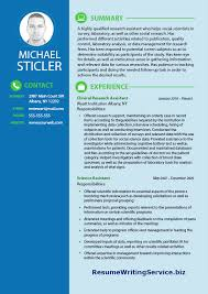 Sample Research Resume by Social Science Research Assistants Resume Resume Writing Service