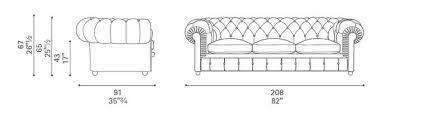 cuscino dwg divano chester renzo frau poltrona frau