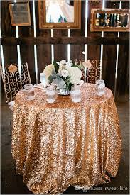 wedding table cloths 2015 bling gold sequins wedding party table cloth
