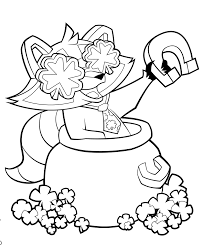 lucky day coloring pages getcoloringpages com
