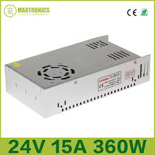 Jual Lu Dc 12v 24v 15a 360w universal regulated switching power supply for cctv led