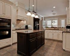 Black Kitchen Cabinets Images White Cabinets And Backsplash Black Counters And Appliances Plus