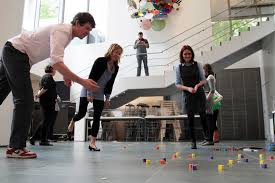 moma talks do you play at work last year moma staff had the