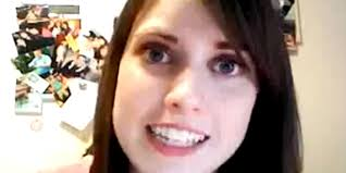 Creepy Girl Meme - overly attached girlfriend returns with creepy call me maybe cover