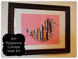 Magazine Wall Art Diy by Make It Mondays Magazine Collage Wall Art Moola Saving Mom