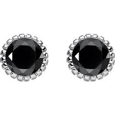 black ear studs earrings shop for earrings on polyvore