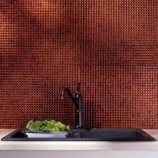 Fasade Backsplash Panels Reviews by Top Product Reviews For Fasade Moonstone Copper Backsplash Panels