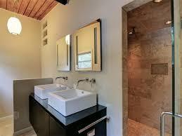 Delta Trinsic Bathroom Faucet by Contemporary Master Bathroom With Rain Shower Head U0026 Vessel Sink