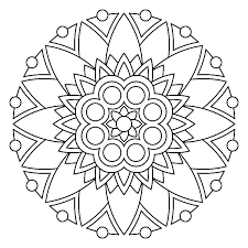 free printable mandala coloring pages color