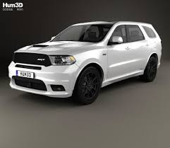 Dodge Durango Srt - dodge durango srt 2017 3d model hum3d