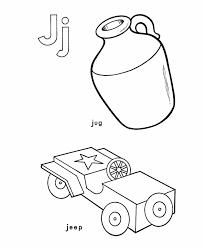 letter j coloring pages getcoloringpages com