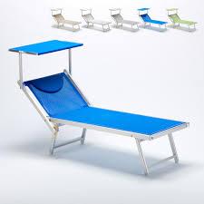 chaise longue transat lit de plage italia chaise longue transat aluminium professionnel