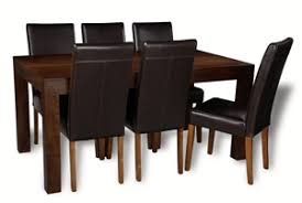 mango wood dining table mango 180cm dining table 6 barcelona chairs trade furniture company