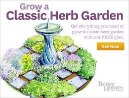 better homes and gardens plan a garden better homes gardens online classic herb garden plan free