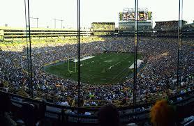 Lambeau Field Map Green Bay Packers Lambeau Field Seating Chart Rateyourseats Com
