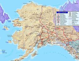 Alaska Route Map by Northwest Explorer Southern Alaska Road Trip 2002
