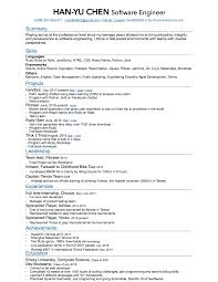 Github Resume Ruby On Rails Resume Resume For Your Job Application