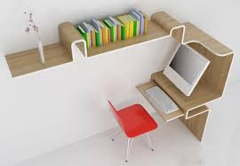 Office Desk Storage Alluring Computer Desk With Storage Space Space Saving Furniture