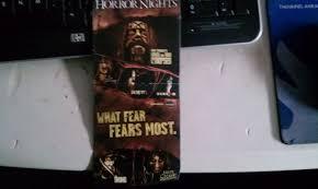 hhn 2011 memorabilia halloween horror nights hollywood 2011