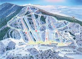 Ski Resorts Colorado Map by Crotched Mountain Ski And Ride Area Trail Map U2022 Piste Map