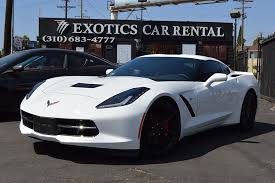 rent a corvette for the weekend chevy corvette stingray rental in los angeles 777 exotics