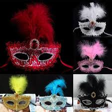 mardi gras masks for sale hot pink feathers printed glitter masks mardi gras masquerade
