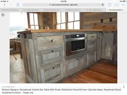 Reclaimed Barn Wood Kitchen Cabinets Barn Wood Bathroom Vanity Barnwood Kitchen Table Diy Barnwood
