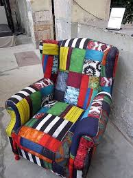 Patchwork Upholstered Furniture - 256 best funky painted upholstered furniture images on