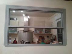 passe de cuisine passe plat à guillotine ré atelier and cuisine