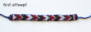weave beaded bracelet images Loom beading without the loom jpg