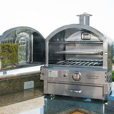 Outdoor Pizza Oven Pacific Living Outdoor Propane Stainless Steel Built In Counter
