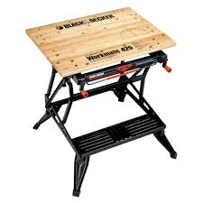 folding work table home depot black decker workmate 425 30 in folding portable workbench and vise