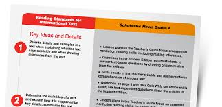 scholastic news edition 4 current nonfiction for grade 4